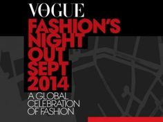 WE WILL TAKE PART AT THE  VOGUE FASHION'S NIGHT OUT  IN ROME SEPTEMBER 11th  with our HAIRSTYLES!