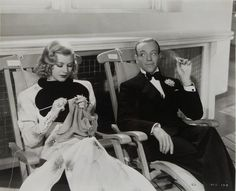 Hollywood Knitters: Ginger Rogers Shall We Dance?
