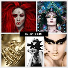 Five glamourous looks to take your Halloween look from ho-hum to haute.