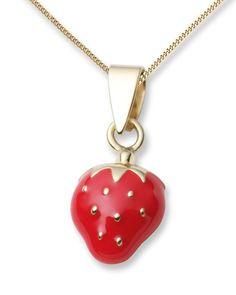 Halskette aus 18 Karat Gold mit Emaille VALERIA kids 5420053383649