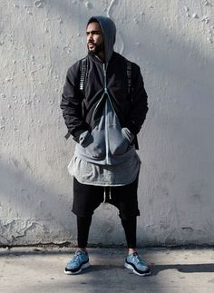 f3ff23b59780 Jerry Lorenzo. Fear Of God. Layering. Layers SPORTS beard   menswear    street