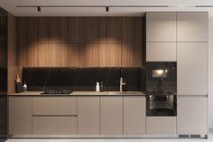Kitchen Room Design, Modern Kitchen Design, Living Room Kitchen, Home Decor Kitchen, Interior Design Kitchen, Bathroom Interior, Küchen Design, House Design, Modern Apartment Design