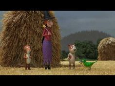 Room on the Broom   BBC   Animated Film   Childrens Story Book - YouTube
