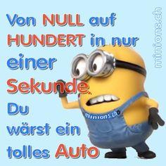 Von NULL auf HUNDERT | minions.ch