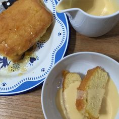 Ginger and Marmalade Sponge the perfect pudding with custard