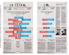 Mid-term Election Fold-in – Post Typography