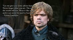 Tyrion Lannister of Game of Thrones