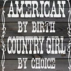 Country girl all the way. :D I like my peace and quiet and chickens.