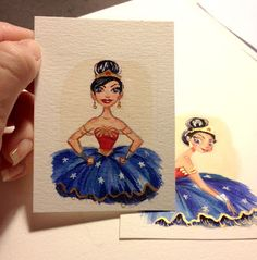 Wonder Woman Ballerina - Liana Hee