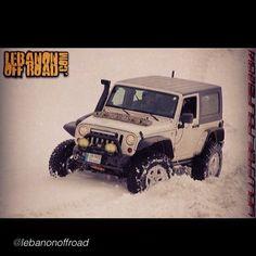 "JEEPBEEF WORLD WIDE WEDNESDAY .. United in the passion of Jeep ! by @lebanonoffroad ""#jeep #wrangler #jk #rubicon #leb #lebanon #lebanonoffroad #snow #dynatrac #xtreme4x4 #itsajeepthing #ice #wayalife #stubby #led #safari #arb4x4 #tj #xj #maxtrax #curry #cooper #prorock44""  #wwwjeepbeef #jeepbeef BEYOND THE WAVE #Padgram"