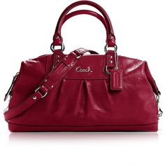 cf11c57c7e94 Love this color red! Coach Handbags Outlet