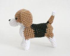 AmiDogs Beagle amigurumi dog PDF CROCHET PATTERN