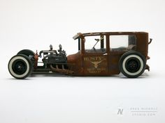 scale models of rat Rods