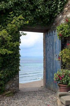 If the Sea Calls Your Name while in the Garden You May Leave for a Bit