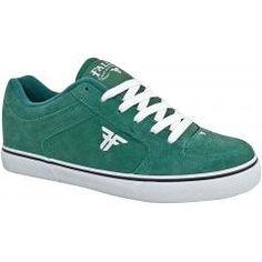 Fallen Shoes - Chief - Dark Green/White II