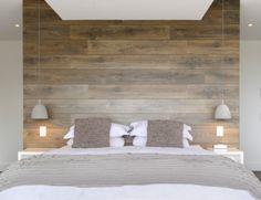 Master bedroom: Headboard