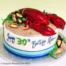 I want this cake done for my dads birthday this year!