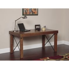 Shop for Industrial Island Desk. Get free shipping at Overstock.com - Your Online Furniture Outlet Store! Get 5% in rewards with Club O!