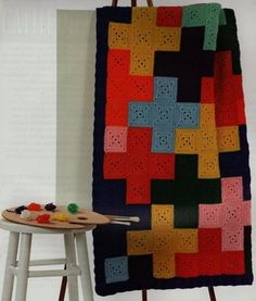 Crocheted rug by febri1960. #crochet