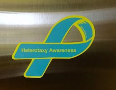 #Heterotaxy Awareness Car Magnet. 100% of proceeds are used to spread awareness and directly impact families affected by heterotaxy and congenital heart defects.