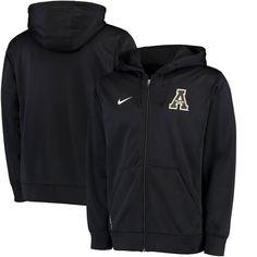 Appalachian State Mountaineers Nike Therma-FIT KO Full-Zip Hoodie - Black - $55.99