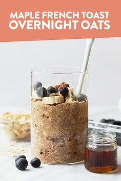 Have your french toast and oatmeal too. Make Maple French Toast Vegan Overnight Oats for an easy, make-ahead breakfast that's packed with maple and cinnamon flavor! This healthy vegan overnight oats recipe is high in fiber and whole grains.