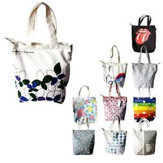 """With a slim, fashionable design, and colored handles, this tote is  environmentally friendly and truly is a great value. Totes are great as  presents or giveaways. Our budget tote is made from 100% cotton and has  strong handles with reinforced stitching. Dimensions: 15.75""""h x 15.25""""w."""