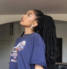 53 Box Braids Hairstyles That Rock - Hairstyles Trends Faux Locs Hairstyles, Black Girl Braided Hairstyles, Frontal Hairstyles, African Braids Hairstyles, Baddie Hairstyles, My Hairstyle, Protective Hairstyles, Girl Hairstyles, Protective Styles