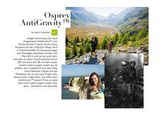 Osprey AntiGravity™ #osprey #rucksack #rucksäcke #backpacks #antigravity #outdoor