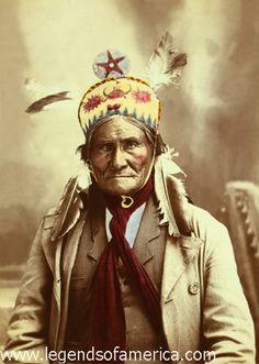 Geronimo - Chiricahua Apache - 1903.