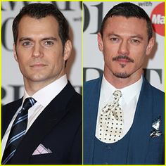Henry Cavill & Luke Evans Are Dapper Dudes at BRIT Awards 2016