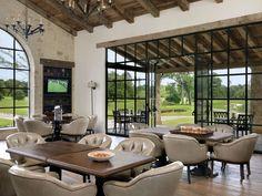 Houston Oaks Club | Ryan Street & Associates Windows and doors