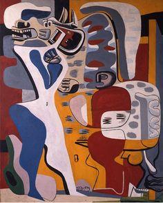 le corbusier / menace / 1938