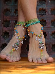 Hey, I found this really awesome Etsy listing at https://www.etsy.com/listing/151383901/fierce-dragon-barefoot-sandals-green