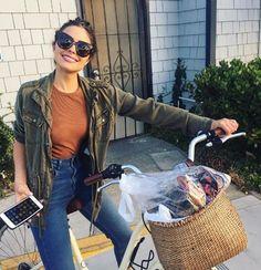 jacket jeans sunglasses top olivia culpo instagram