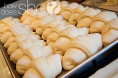 Delicious Dinner Rolls | How Does She.../ I use this recipe for delicious homemade cinnamon rolls. :)