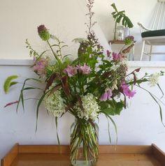 Bouquet I made for Hutspot van Woustraat
