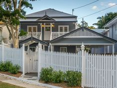 See some of our recent renovation & home build projects from our Brisbane Builders. If you like anything you see, don't hesitate to get in touch. Old Home Renovation, Cottage Renovation, Queenslander House, Installing Hardwood Floors, Wide Plank Flooring, Exterior Paint Colors, Paint Colours, House Goals, Interior And Exterior