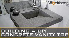 DIY CONCRETE VANITY TOP (Part 1 of 2)