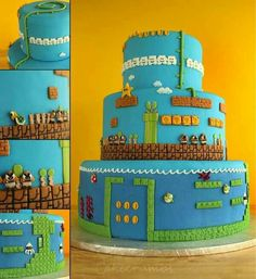 Mario cake!!!