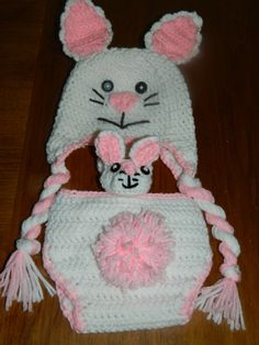 Infant Easter Outfit Bunny Rabbit Outfit by IpsenCraftCreations, $45.00