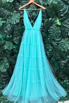 Ball Dresses, Formal Dresses, Wedding Dresses, Verde Tiffany, Floral Skirt Outfits, Homecoming Dresses, Beautiful Dresses, Ideias Fashion, Chic
