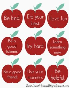 Great lunch box notes for kindergarten kids and emerging readers