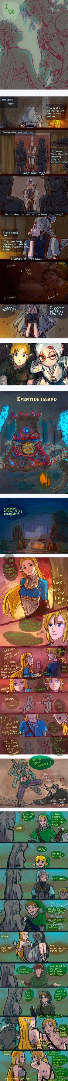 +(- The legend of Zelda doodles [15] -)+ (BOTW) by AngelJasiel