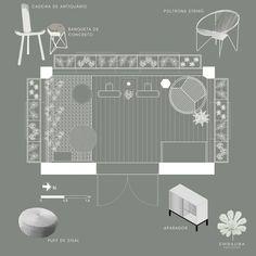 Projeto varanda mobiliário Balcony, Landscaping, Log Projects
