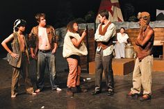 Trey Parker's Cannibal! The Musical, in what could be the awesomest high school theater production ever