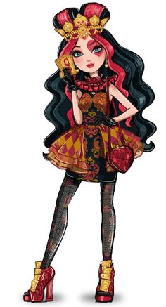 Ever After High - Royals  Lizzie Hearts (Daughter of The Queen of Hearts)