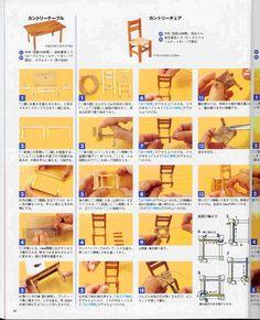 Tutoriales Mundomini: Para contar, tutorial silla de enea