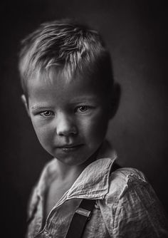 Thomas by Ewa Cwikla on White Photography, Fine Art Photography, Portrait Photography, Black And White Picture Wall, Black And White Pictures, Black Artwork, Beautiful Children, Children Photography, Family Portraits