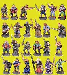Mega Miniatures (Metal Magic) Thieves Guild - 24 pack - £15